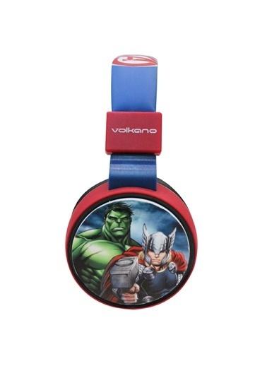 Volkano Marvel Avengers Yenilmezler Bluetooth Kulaklık Kablosuz Çocuk Kulaklığı Lisanslı MV-1006-AV Renkli